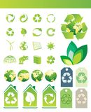 Environmental / recycling icons Royalty Free Stock Photo
