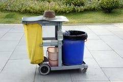 Environmental sanitation barrow Stock Photos