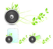 Environmental speaker concept Royalty Free Stock Image