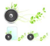 Environmental speaker concept Royalty Free Stock Image