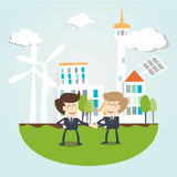 Environmental Sustainability Business concept stock illustration