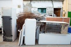 Environmental sweepings Royalty Free Stock Photo