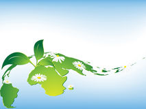 Environmental vector background Stock Images