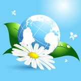 Environmental vector concept Royalty Free Stock Images