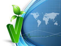 Environmental vector concept. Eps10 Royalty Free Stock Photography