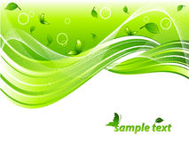Environmental vector header Stock Photos