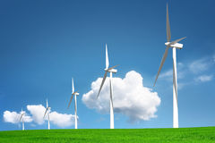 Environmental wind Royalty Free Stock Photos