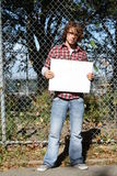 Environmentalist stock photo