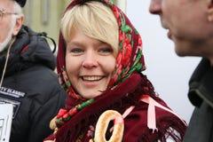 Environmentalist Evgeniya Chirikova Royalty Free Stock Images