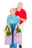 Environmentally Aware Seniors Royalty Free Stock Photography