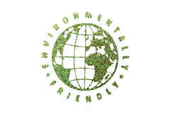 Environmentally firendly globe Royalty Free Stock Photography