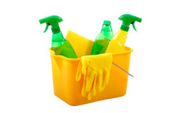 Environmentally friendly cleaning concept Royalty Free Stock Images