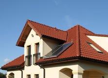 Environmentally friendly home Stock Image