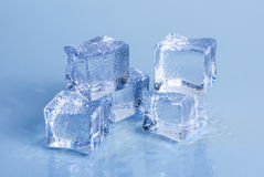 Environmentally friendly ice Royalty Free Stock Images