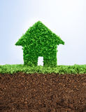 Environmentally friendly living Royalty Free Stock Photography