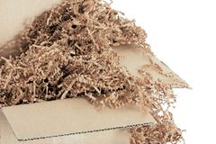Environmentally Friendly Packing Material Stock Image