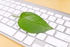 Environmentally Friendly PC Royalty Free Stock Photos