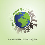 Environmentally Friendly Planet Concept Royalty Free Stock Photo