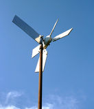 Environmentally Friendly Recycled Windmill Royalty Free Stock Image