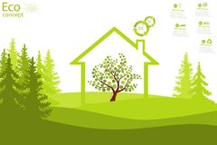 Environmentally friendly world. Stock Images