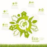 Environmentally friendly world. Stock Images