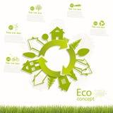 Environmentally friendly world. Royalty Free Stock Images