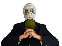 Environmentally hazardous corporation Stock Image