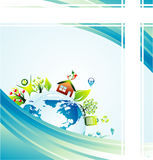 Environmetal concept Background Royalty Free Stock Image