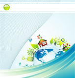 Environmetal concept Background Stock Photography