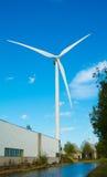 Environnement d'industrie de moulin de vent Photos libres de droits