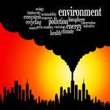 Environnement de la terre Photo libre de droits