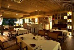 Environnement de restaurant Photos libres de droits