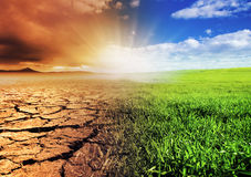 Environnement en cours d'évolution Photographie stock libre de droits