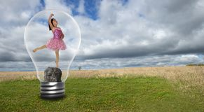 Environnement, environnementalisme, nature, paix, espoir image stock