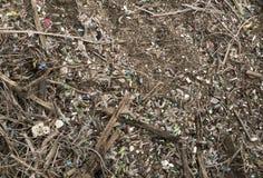 Environnement fortement pollué photos libres de droits
