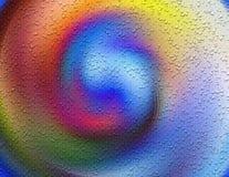 Environnement galactique avec le petit fond de bulles photos stock