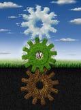 Environnement relié Images libres de droits