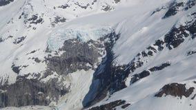 Environnement sur le glacier Juneau Alaska de Mendenhall Image libre de droits