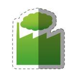 environnement vert d'usine de bâtiment Image stock