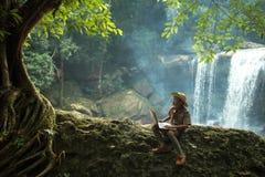 Environs naturels de communication photographie stock libre de droits