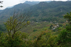 Environs of river valley. Vicinity of river valley in Vietnam stock photography