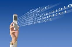 Envoi de données Image libre de droits