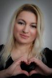 Envoi de l'amour Photo libre de droits