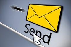 Envoi de l'email illustration stock