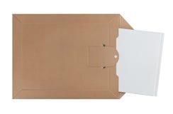 Envoi de l'enveloppe de poteau image libre de droits