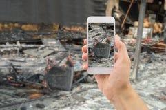 Assurance la maison de d g ts caus s par le feu photos for Assurance de la maison