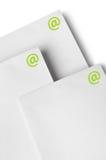 Envoi de lettre d'email Image stock