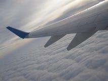 Envolez-vous les aéronefs Photographie stock libre de droits