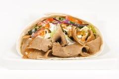 Envoltório de Donner Kebab fotos de stock