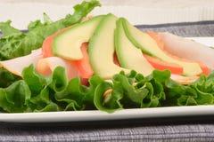 Envoltório Nutritious da alface fotos de stock